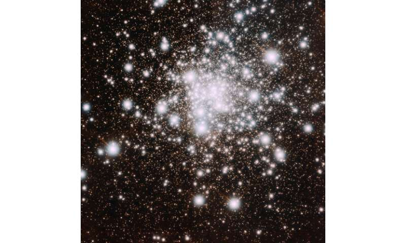 NGC 6624 cluster's advanced age in razor-sharp focus