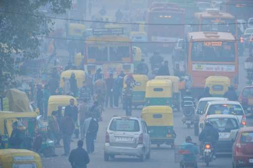 Nine out of 10 people globally are breathing poor quality air, the World Health Organization says