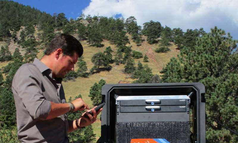 NIST's rolling wireless net helps improve first-responder communications