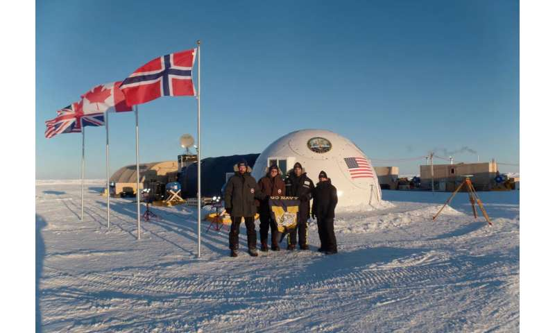 NRL completes ICEX2016 expedition, mapping of Arctic ice