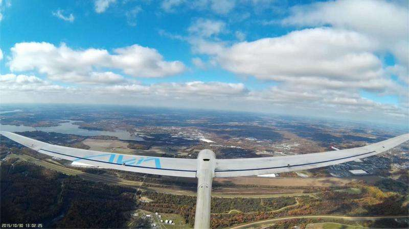 NRL tests cooperative soaring concept for sustained flight of UAV sailplanes