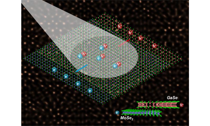 Odd couple' monolayer semiconductors align to advance