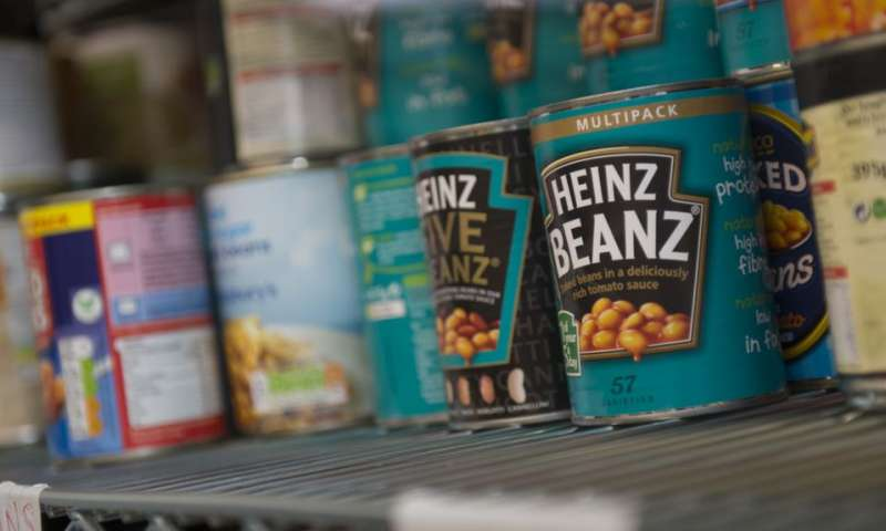 'One in three foodbank users is a child'
