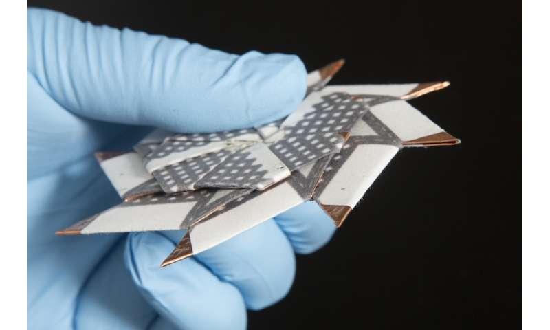 Origami ninja star inspires new battery design