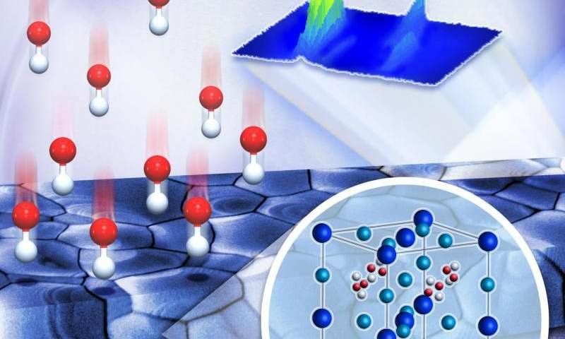 ORNL tracks how halogen atoms compete to grow 'winning' perovskites