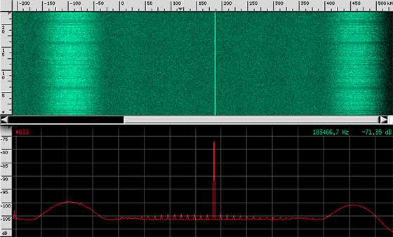 OSIRIS-REx says hello to the Allen Telescope Array