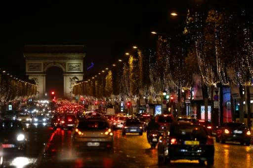 Paris' most famous boulevard, the Champs-Elysees, will be off-limits to cars on the first Sunday of every month starting in May,