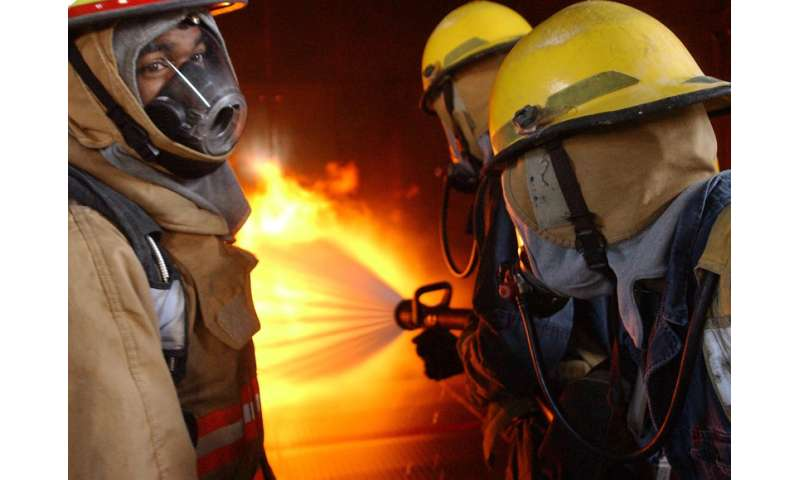 Peers, public perception influence firefighters against safety equipment