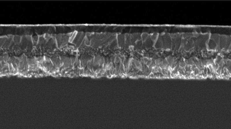 Perovskite solar cells hit 21.1% efficiency and record reproduciblity