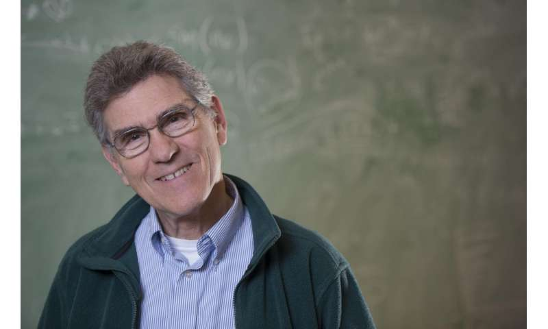 Physicist honored for finding new symmetry in space andtime
