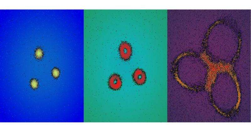 Physicists first to see behavior of quantum materials in curved space