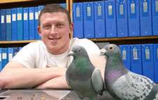 Pigeons can learn to distinguish real words from non-words