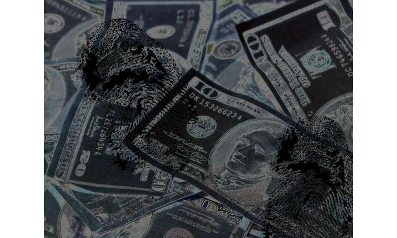 Plastic banknotes—new fingerprint technique means criminals