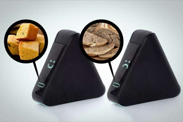 Portable sensor detects trace amounts of gluten in food at restaurants