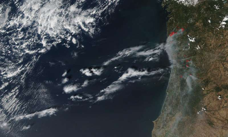 Portugal's Madeira Islands and mainland fires