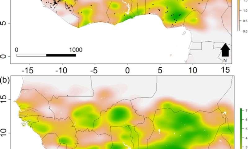 Predicting disease outbreaks using environmental changes