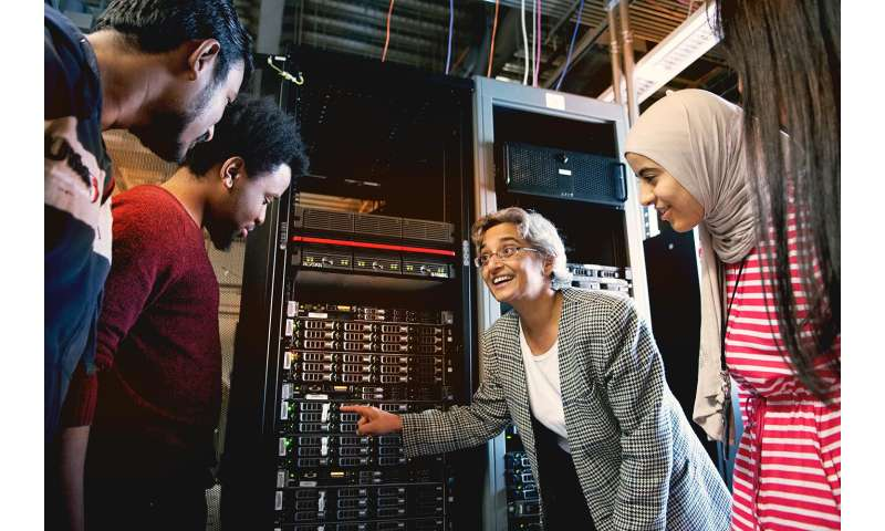 Professor's work focuses on revving up the highest-speed networks