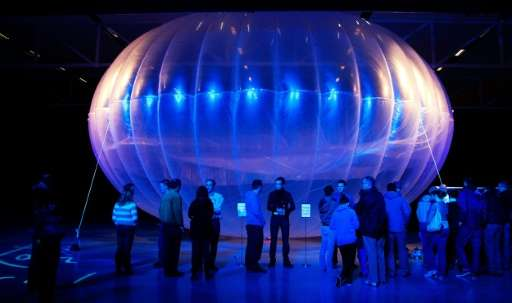 Project Loon balloons will fly twice as high as commercial airliners and will be barely visible to the naked eye