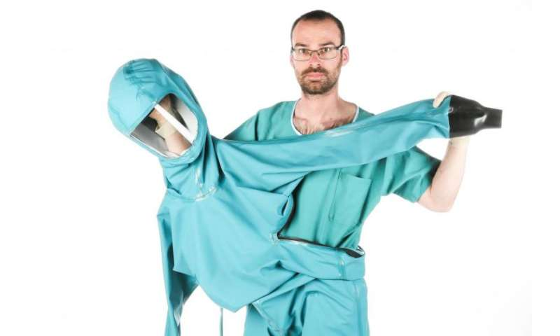 Protective suit against Ebola and future epidemics