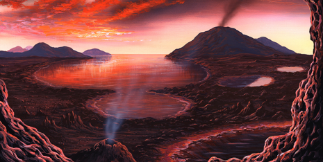 Protein-like structures from the primordial soup