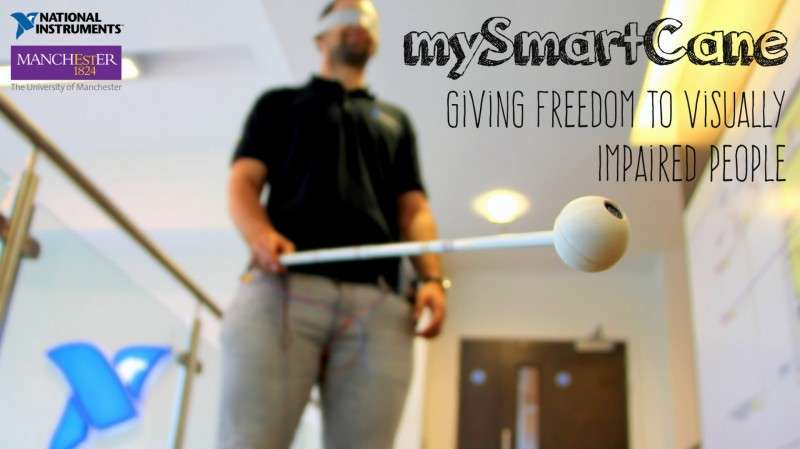 Prototype smart cane could transform lives of the blind and visually impaired