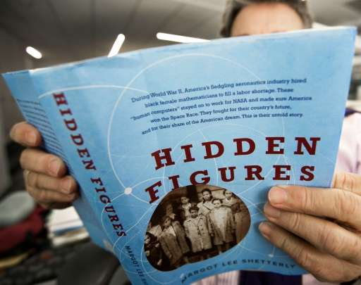 """Hidden Figures"", by Margot Lee Shetterly, is the true story of Africian American female mathematicians at NASA whose"