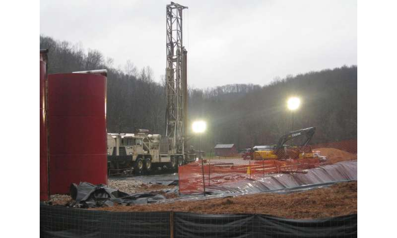 Radioactive isotopes reveal age of oil and gas wastewater spills