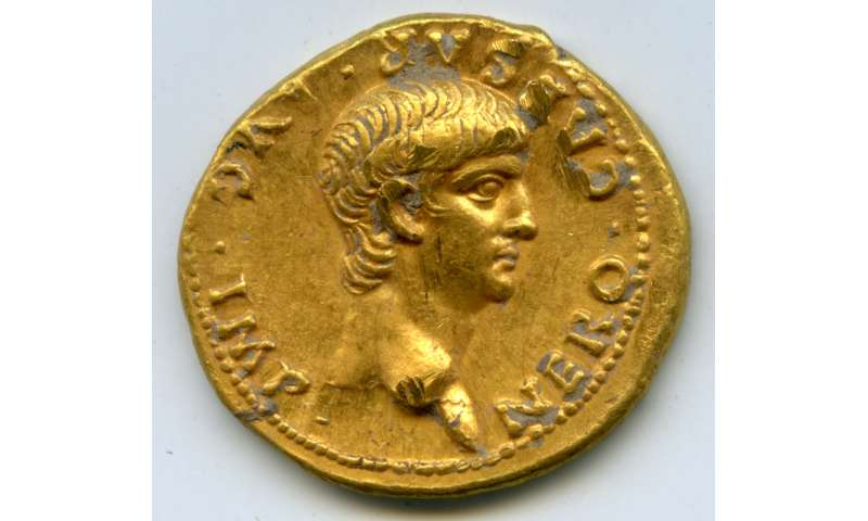 Rare Roman gold coin found in Jerusalem at Mt. Zion archaeological dig