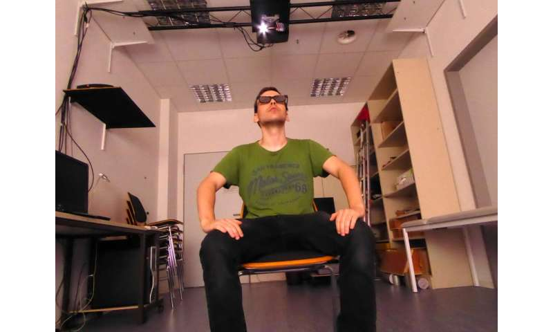 Real and artificially generated 3-D films are nearly impossible to distinguish