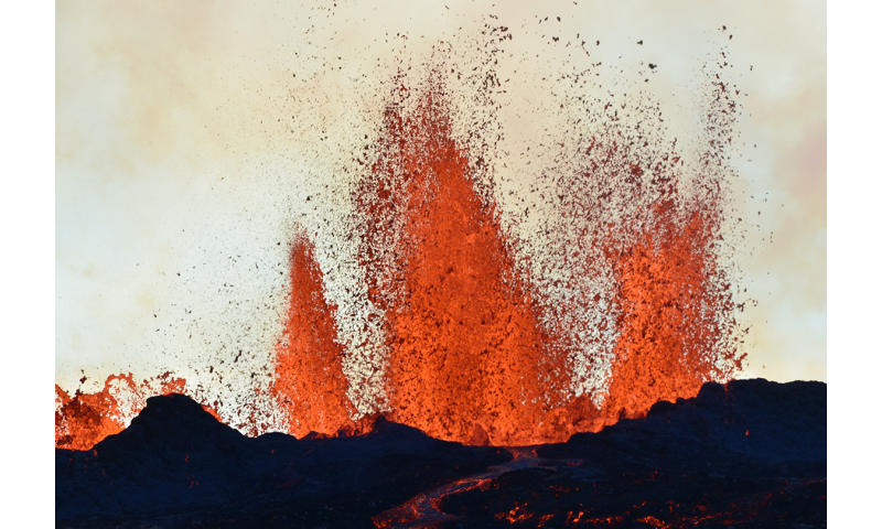 Record-breaking volcanic kettle on Iceland explored