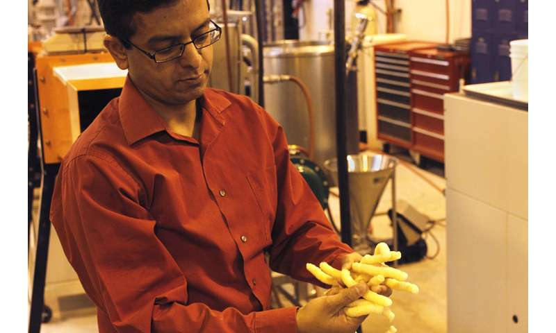 Reducing waste while improving snack nutrition