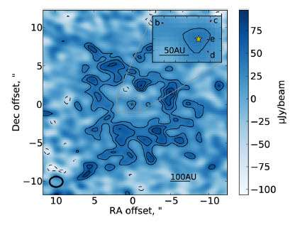 Resolving the Planetesimal Belt around HR8799