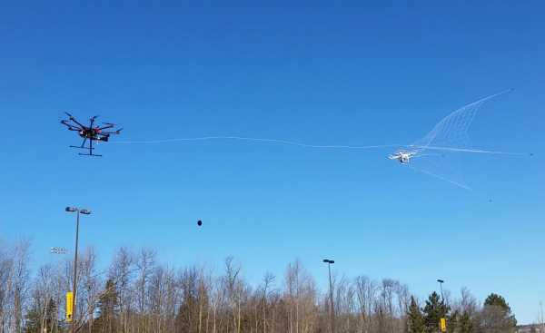 """Robotic falcon"" can capture, retrieve renegade drones"