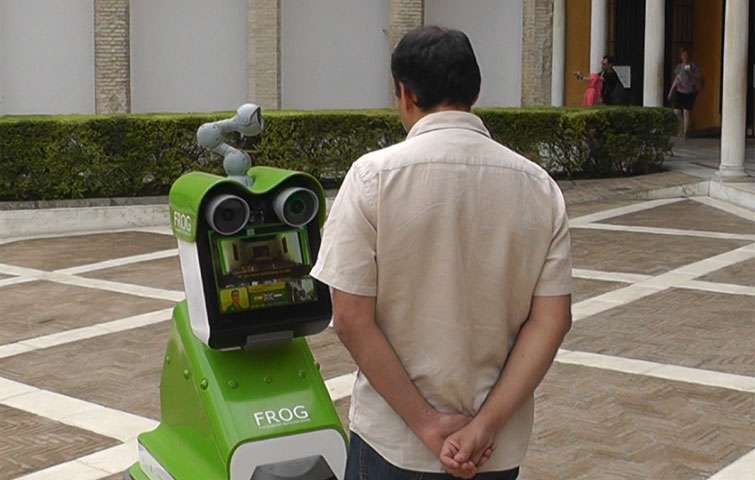 Robots don't have to behave or look like humans