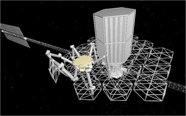 Robot would assemble modular telescope -- in space