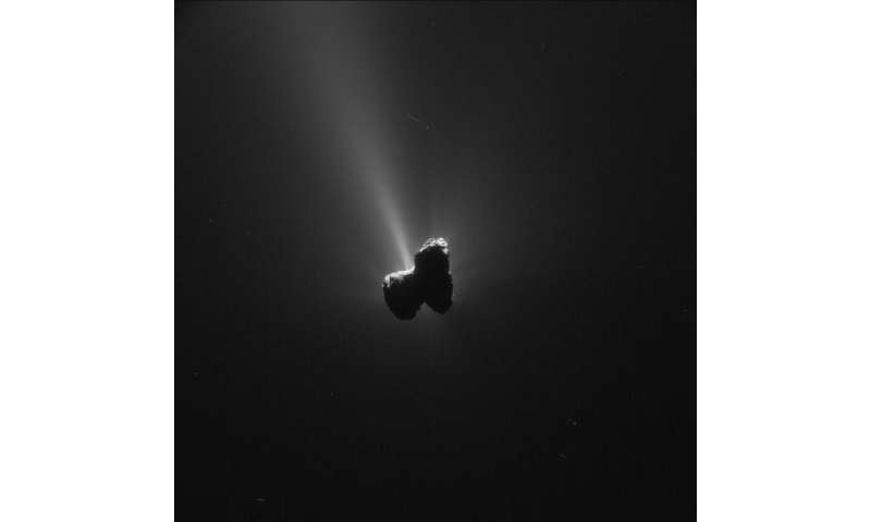 Rosetta measures production of water at comet over two years