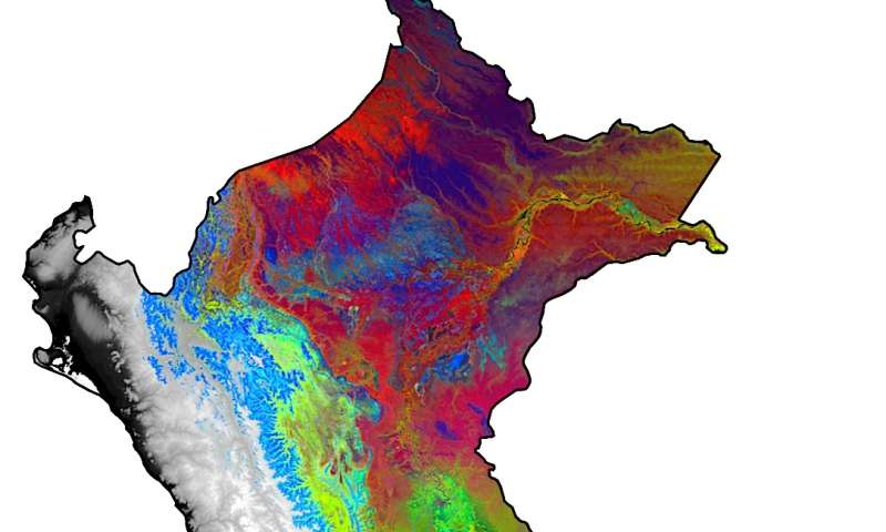'Rule-breaker' forests in Andes and Amazon revealed by remote spectral sensing