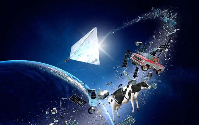 Russian team attempts crowdfunding for space junk solution