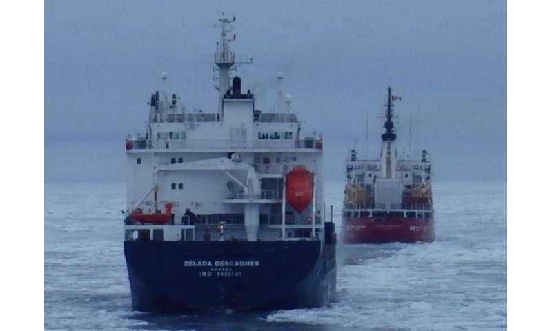 Safe navigation through the Northwest Passage