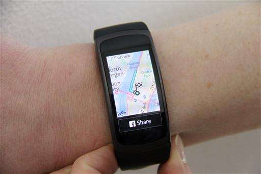 Samsung challenges Fitbit with $180 fitness tracker with GPS