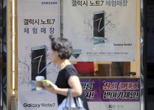 Samsung says it has found no battery problem in China