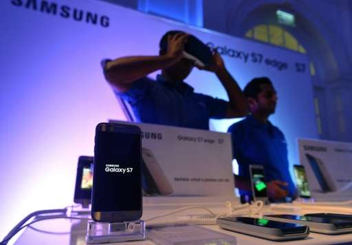 Samsung, the world's biggest smartphone maker, said it too is looking at adifferent future of connected things