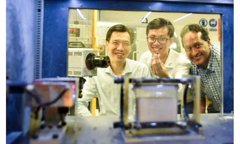 Sand absorbs high-speed ballistic impact better than steel: NUS study