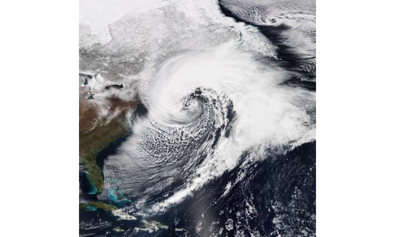 Sandy's surge topped by 'rogue' 1950 storm in some areas