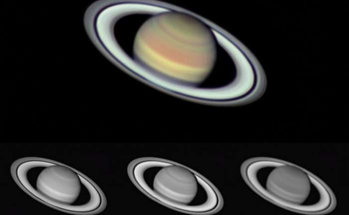 Saturn at opposition 2016