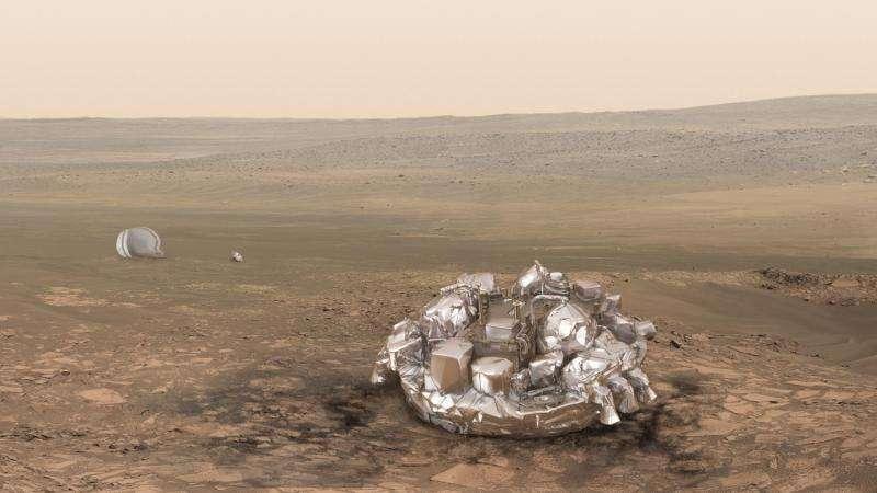 Schiaparelli readied for Mars landing