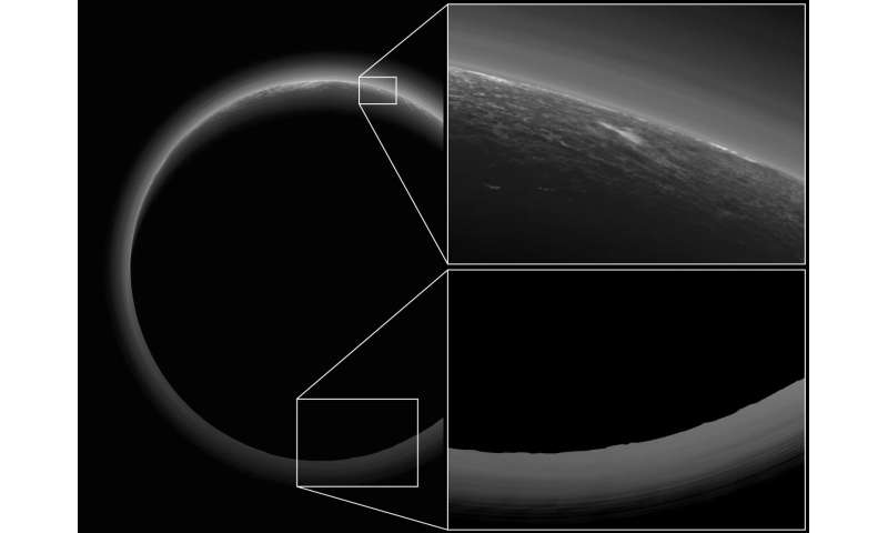 Secrets revealed from Pluto's 'Twilight zone'