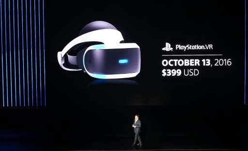 Shawn Layden, chairman of Sony Interactive Entertainment Worldwide Studios, announces that the PlayStation VR headset will go on