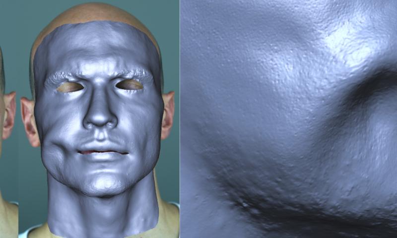 Single camera can capture high quality facial performance