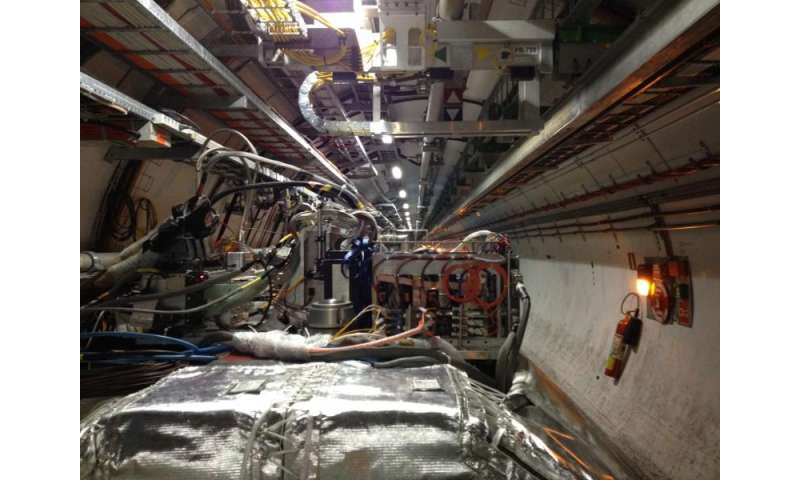 Smallest LHC experiment has cosmic outing